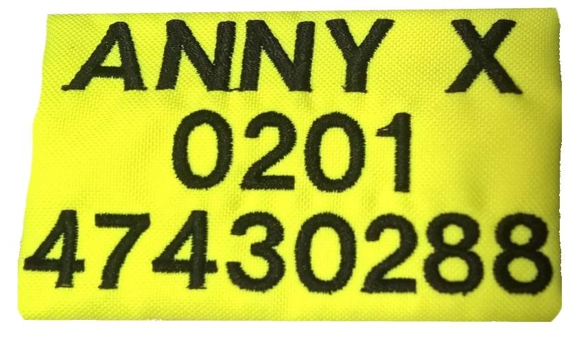 anny-x Brustgeschirr Fun rot rot Limited Edition Gr L